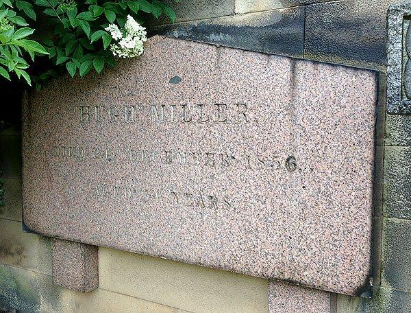 Hugh Miller grave